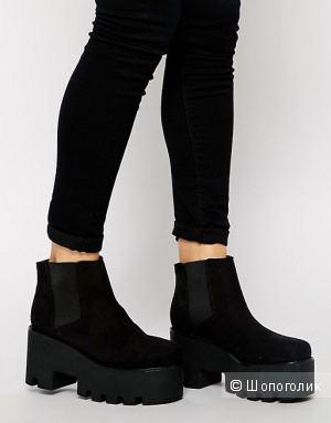 ASOS ENJOY THE RIDE Chelsea Ankle Boots (UK7)