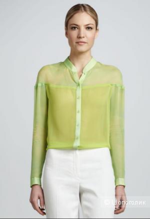 Шелковая блуза elie tahari