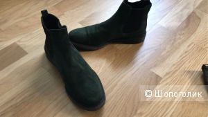 Замшевые итальянские ботинки Lanciotti de Verzi