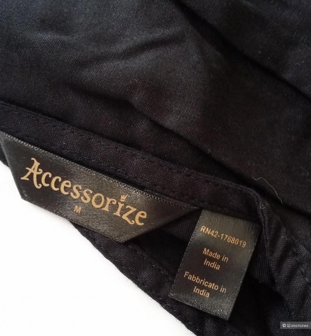 Пляжный сарафан с вышивкой  Accessorize 100% вискоза, 44-48 размера