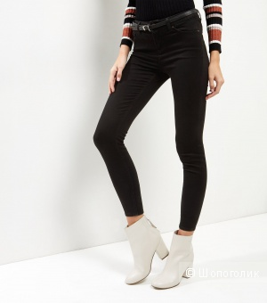 New Look Black Super Soft Super Skinny India Jeans (10L28)