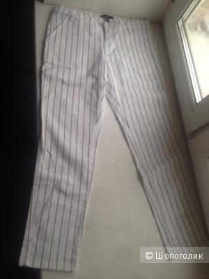 Джинсовые брюки в полоску Mango, новые, размер 36