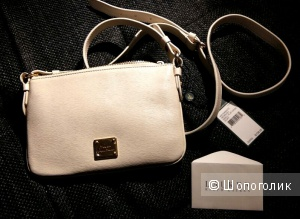 Новая Сумочка из кожи cross body Ralph Lauren