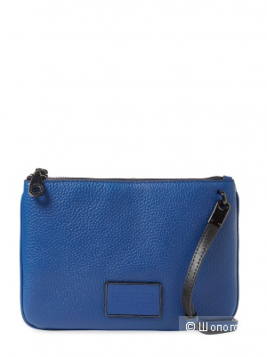 Сумка кроссбоди Marc by Marc Jacobs, модель Ligero Double Percy Leather Crossbody, синяя
