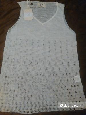 Топ или блузка M.V. MAGLIERIA VENETA (Италия), р. L, лен, новый