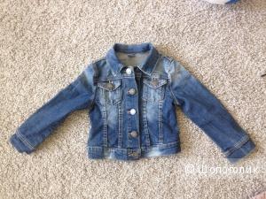 Джинсовая куртка Zara Kids 2-3
