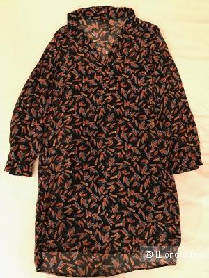 Платье в перышко