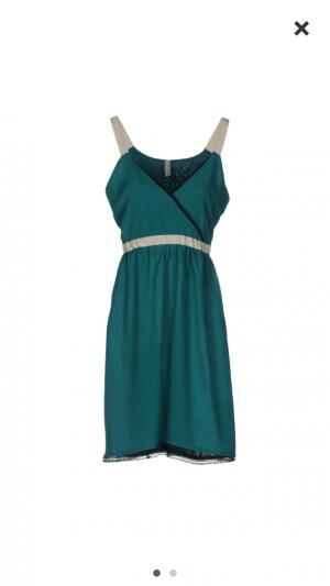 Платье CAFENOIR, цвет зеленый, размер М