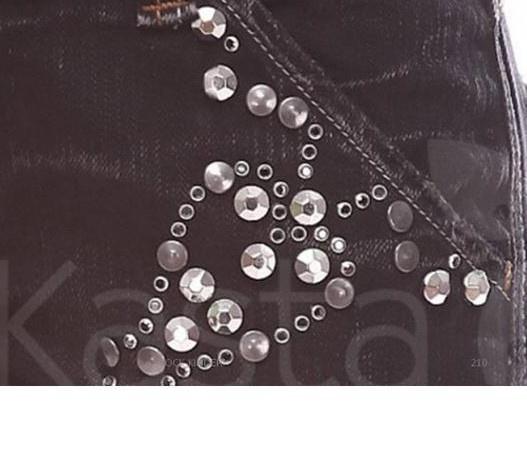 """Итальянские джинсы MET размер 30 модель """"клёш от колена"""""""
