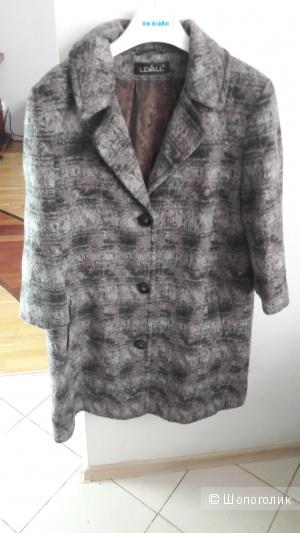 Шерстяное пальто Levall  48 размера
