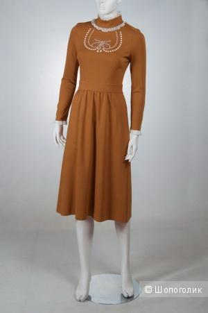 Платье горчичного цвета Imperial Италия размер M(44-46)
