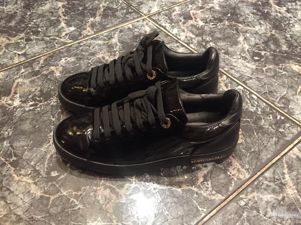 Черные лаковые кеды Louis Vuitton, в магазине Другой магазин — на ... 055daa47509