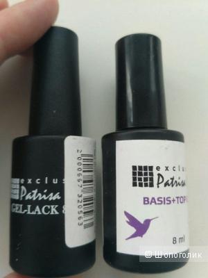 Шеллак Patrisa nail, база 2 в 1 трехфазная + лак по цене только базы:)