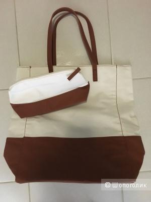 Пляжный комплект сумка+косметичка в подарок