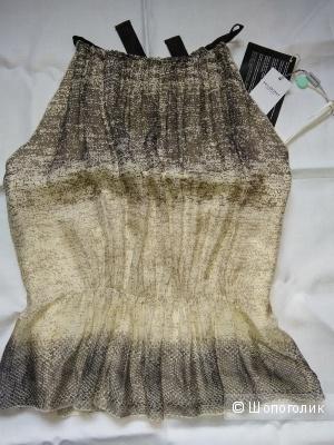 Alberta Ferretti топ от кутюр из натурального шелка, р. 42-46, новый