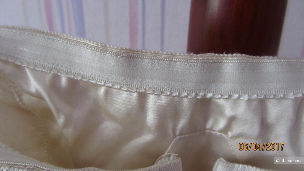 Шелковое платье-бюстье BCBG размер US 6