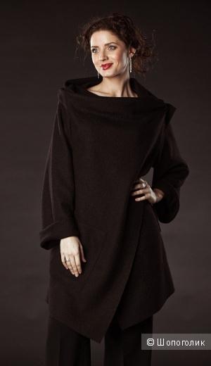 Пальто из валяной шерсти Gamelia размер 46-48 рост 170