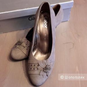 Удобные туфли Gabor размер 4 G на наш 37-37,5