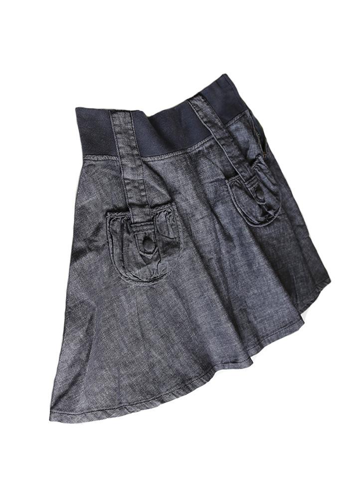 d49d6aec550 Новая юбка джинсовая с карманами S-M