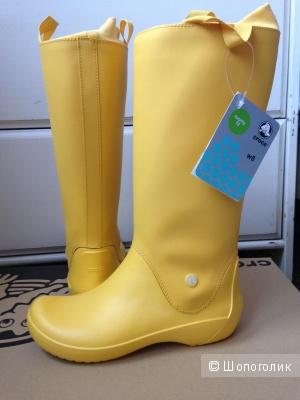 Идеальные сапожки для дождливых дней, размер 38
