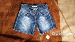 Классные джинсовые шорты, б/у 1 раз, р. 26