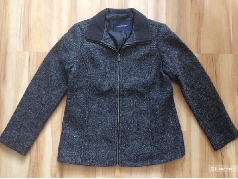 Пальто-куртка из вареной шерсти Land's End