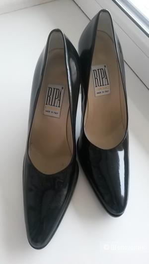 Новые лаковые туфли Ripa, Италия, кожа, р. 37,5