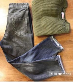 Итальянские двухцветные джинсы Souvenir