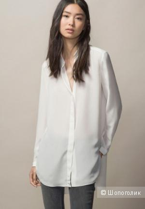 Шелковая блузка Massimo Dutti, размер 36