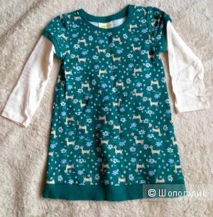 Новое платье Crazy8 из США 18-24м