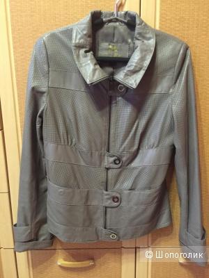 Кожаная куртка размер М