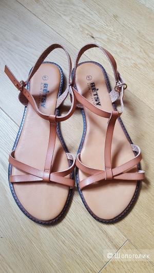 Летние сандалии из экокожи, размер 41