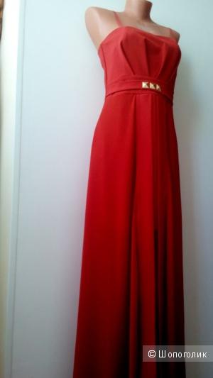 Платье в пол. Вечерний вариант. Rinascimento, размер М.