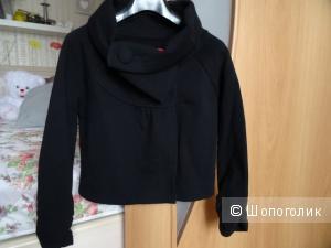 Утеплённый жакет Esprit чёрного цвета, размер 40-42, б/у