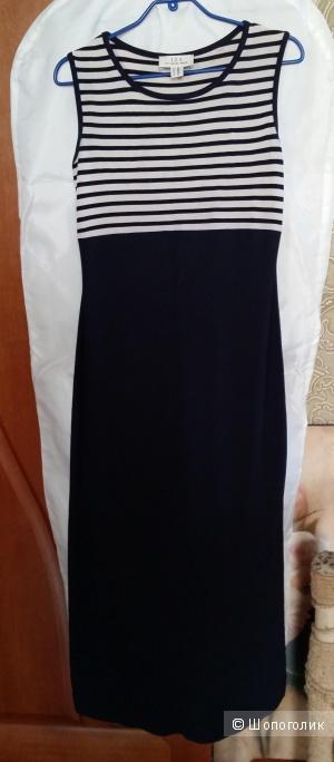 Платье в морском стиле французского бренда 1 2 3  44-48 размера.