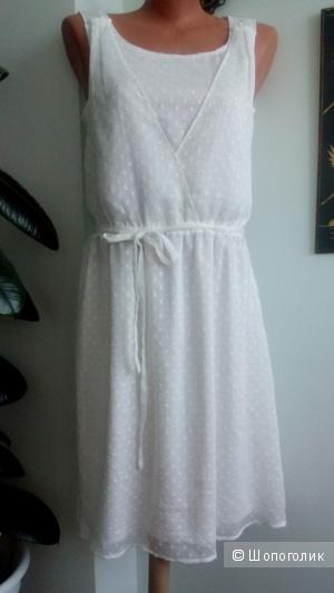 Платье кремового цвета ESPRIT Германия разм.38(46)