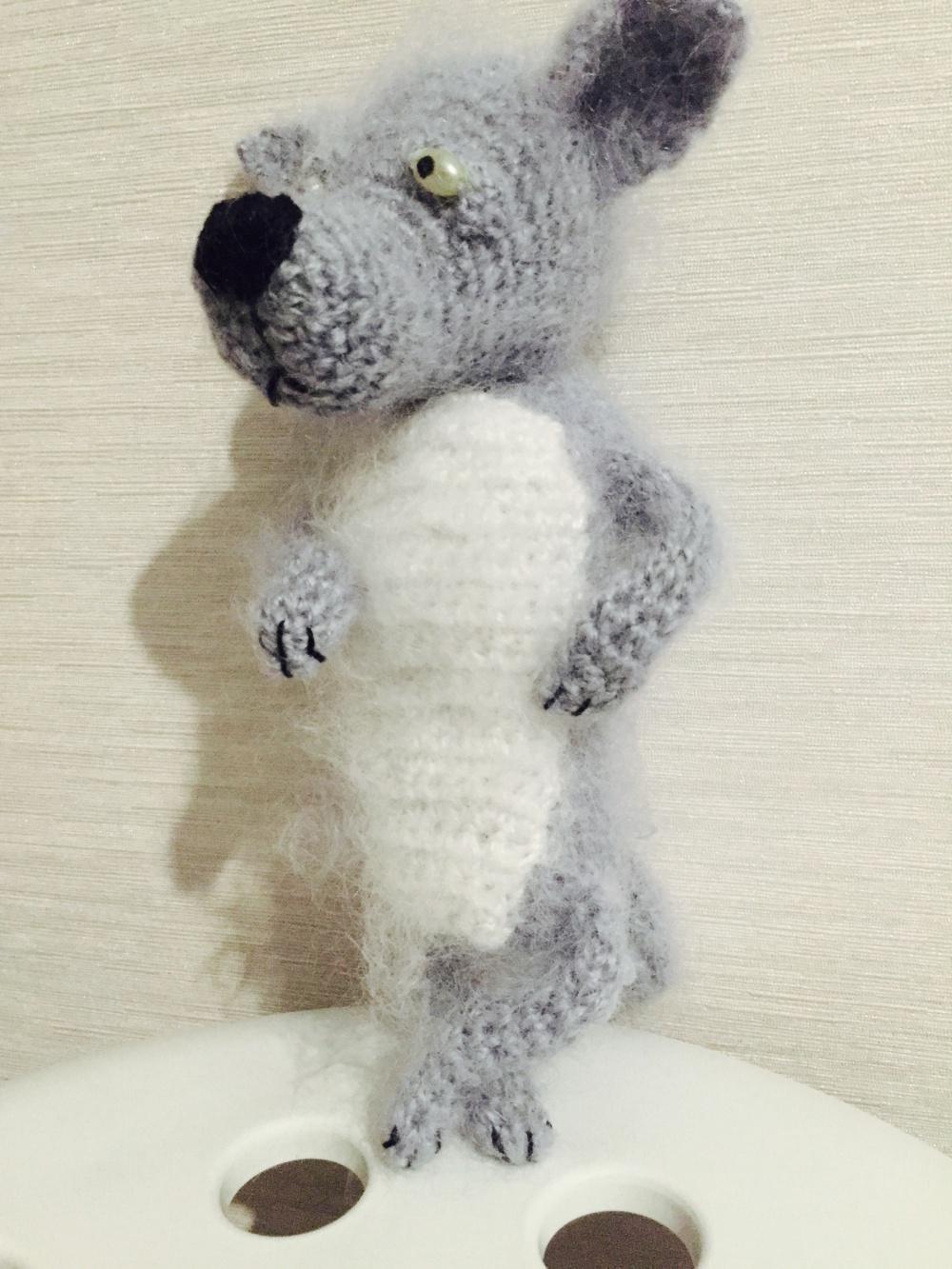 """Дизайнерская игрушка """" Волчонок"""""""