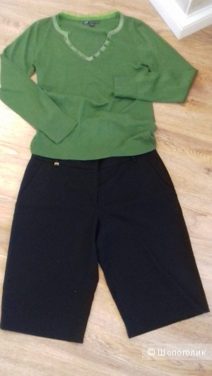 SEVENTY, удлинённые шорты из вирджинской шерсти, Италия, размер 42IT
