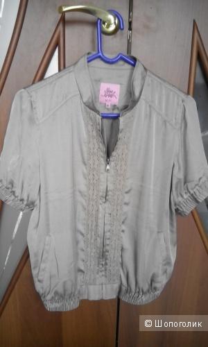 Симпатичная блузка-бомбер на замке Incity 46 размер,