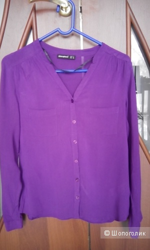 Приятная вискозная рубашка сочного цвете Atmosthere uk10