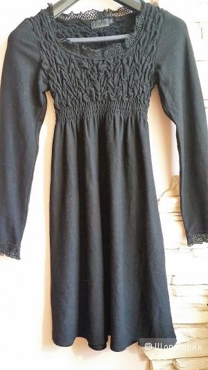 Платье( шерстяной трикотаж) Nina Lisbeth (Стокгольм) 44-46 р-р