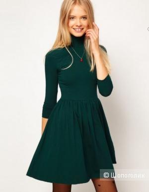 Asos: платье бирюза, 50