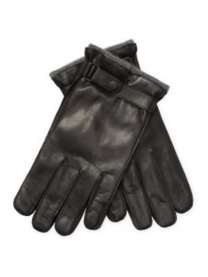 Мужские кожаные перчатки на кашемире Portolano,  размер М