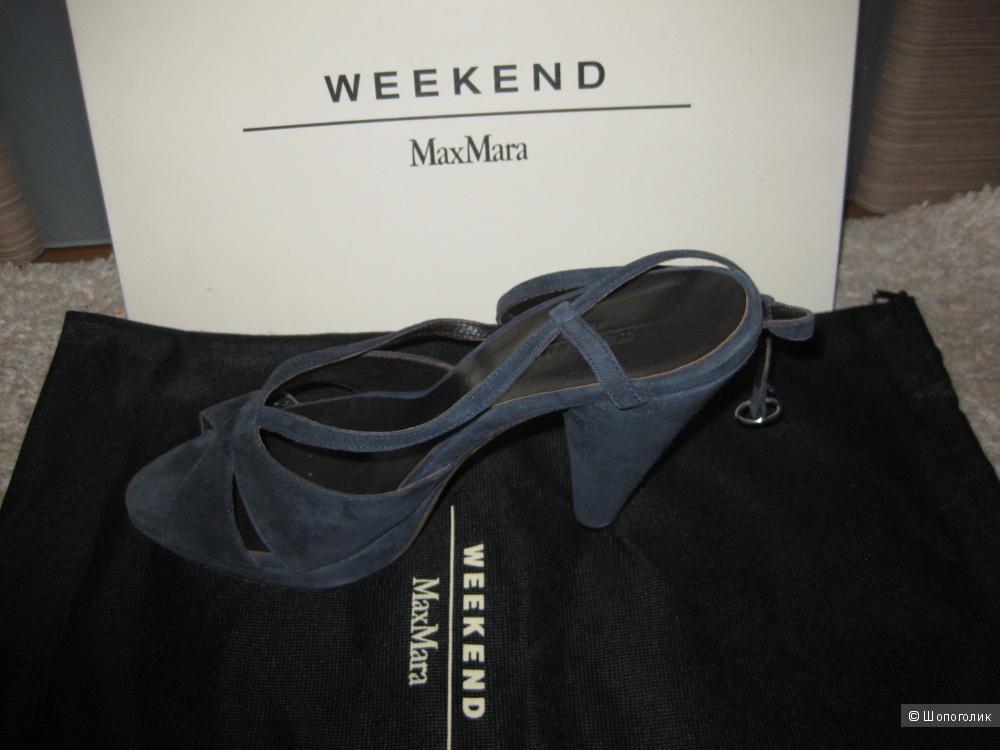 Босоножки WEEKEND MAX MARA, размер 39, замша