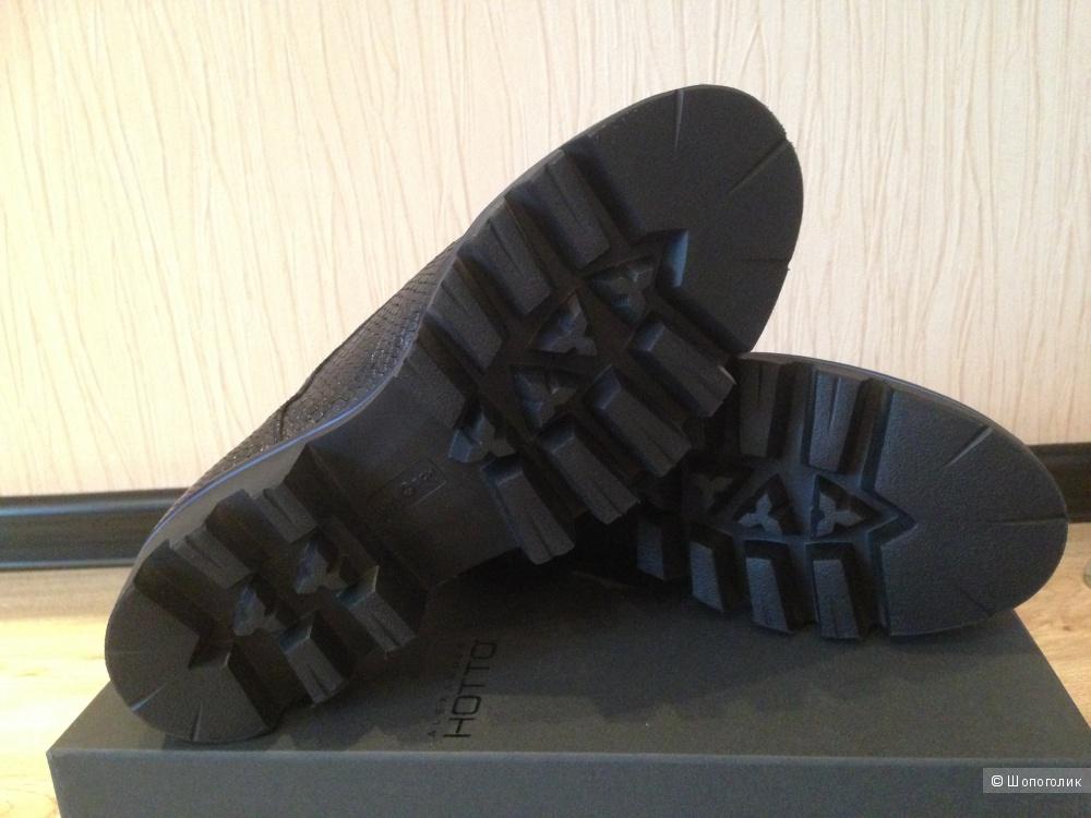 Оригинальные женские кожаные полуботинки Alexander Hotto 40 размер