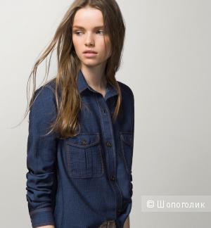 Новая Рубашка Оригинал Massimo Dutti