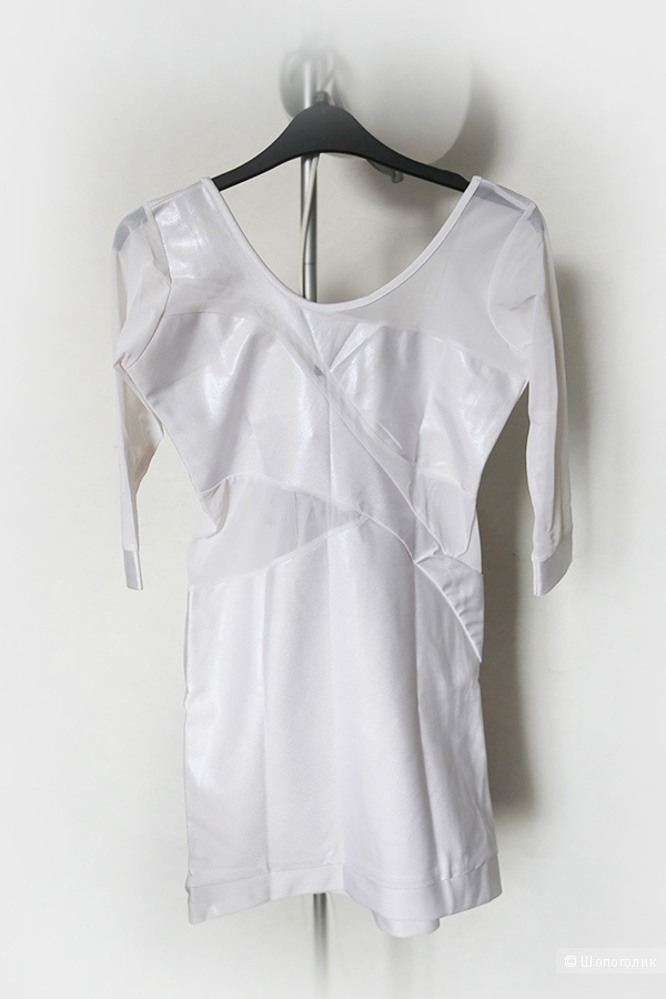 Новое платье жемчужно-белое S-M, Quontum