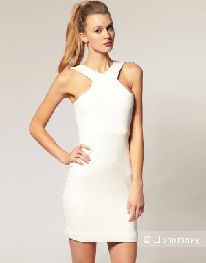 Новое белое платье Aqua UK10