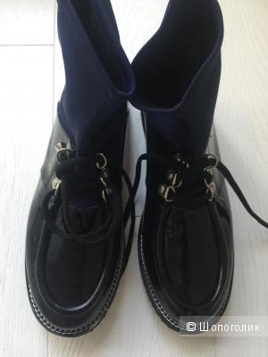 Ботинки лаковые TUFFONI, размер 37