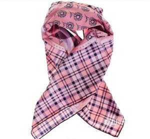Платок/шарфик розовый Versace 19.69 Abbigliamento Sportivo Новый, Оригинал